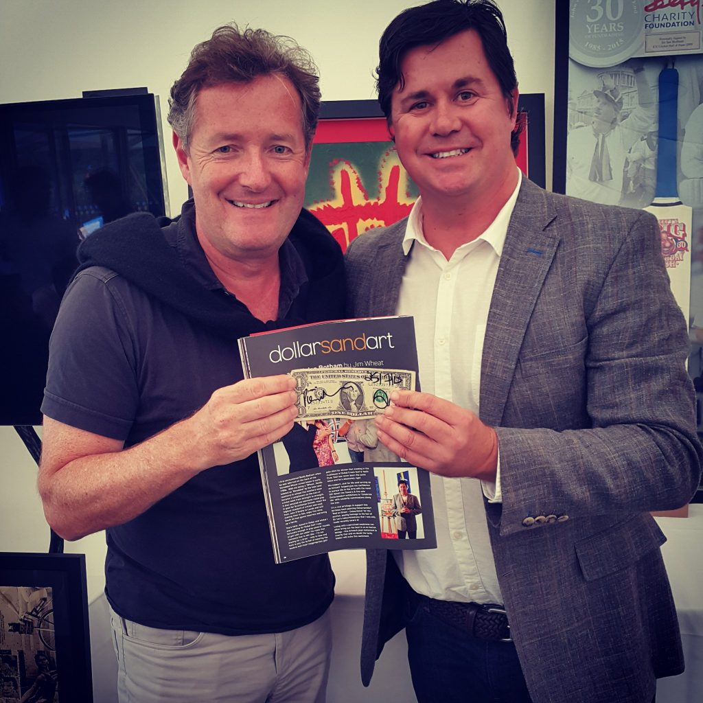 Piers Morgan and Jim Wheat